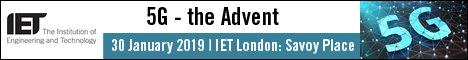 5G - the advent - email banner